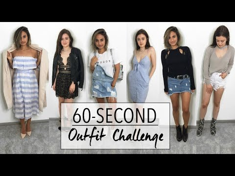 6 Outfits in 60-Seconds   Closet Raid