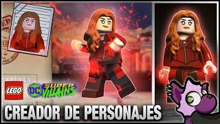 LEGO DC Súper Villanos | BRUJA ESCARLATA (Scarlet Witch) Infinity War - Creando un Personaje