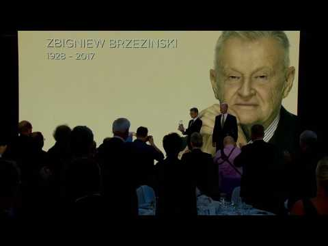 2017 Atlantic Council Freedom Award presentation to Zbigniew Brzezinski