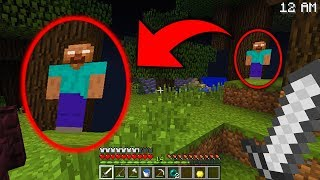 Actual Proof that Herobrine is REAL in Minecraft (Herobrine Survival EP3)
