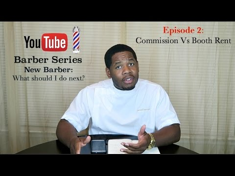 NEW BARBER- What should I do next? EP 2. Commission Vs Booth rent