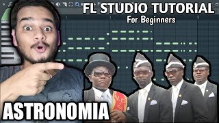 COFFIN DANCE MUSIC(Astronomia) #FLStudio Tutorial for Beginners