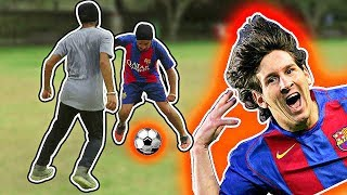 HOW TO PLAY LIKE LIONEL MESSI 2018 LEARN LEO MESSI FOOTBALL SOCCER SKILLS AND DRIBBLES