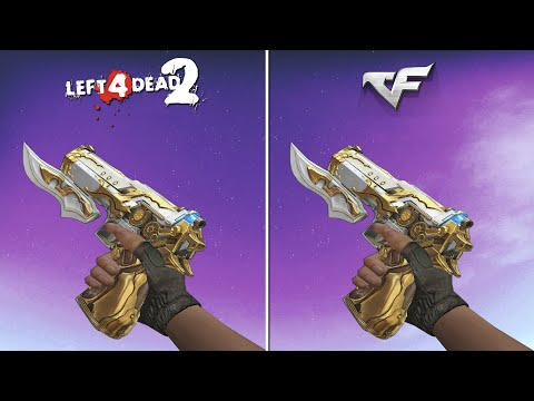 CrossFire Weapons in LEFT 4 DEAD 2 [Comparison] - YouTube