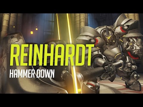 Overwatch - Reinhardt Guide - HAMMER DOWN! (Tips and Advice)