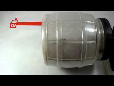 TechnoCrash#42: Alcatel OT-808: Dust test