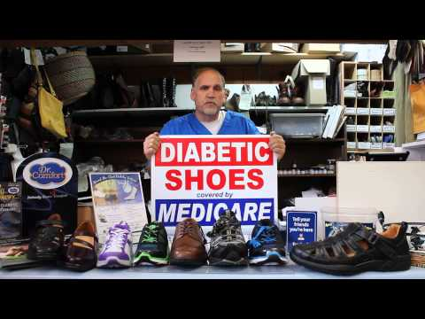 Diabetic shoes covered by Medicare
