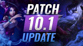 NEW UPDATE: BEST Champions TIER List - League of Legends Patch 10.1