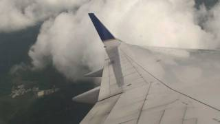 United (Continental Airlines) - Landing Newark Liberty Airport Boeing 757-200 Winglets