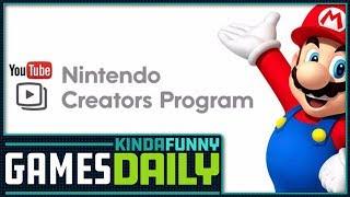 Nintendo Kills Creators Program - Kinda Funny Games Daily 11.29.18