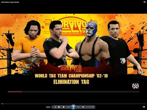 WWE 2K15 PC #18 World Tag Team Championship: Elimination Tag Match - Ever y Javivi VS Galiza Gamers