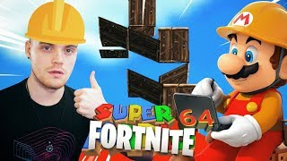 SUPER FORTNITE 64! (Mario + Fortnite = ???)