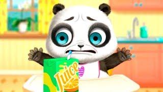 МАЛЫШ панда как Панго Съела ПЕРЕЦ и ОБКАКАЛСЯ Уход за малышами Игровой мультик для малышей Игра