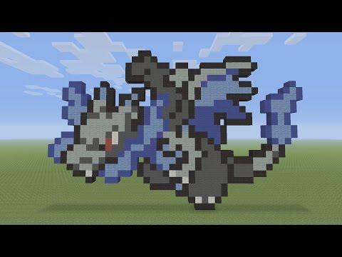 смотрите сегодня Minecraft Pixel Art Charizard Mega X