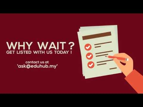 Get listed with Eduhub.my