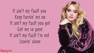 Download lagu Ain't My Fault - Zara Larsson (Lyrics)