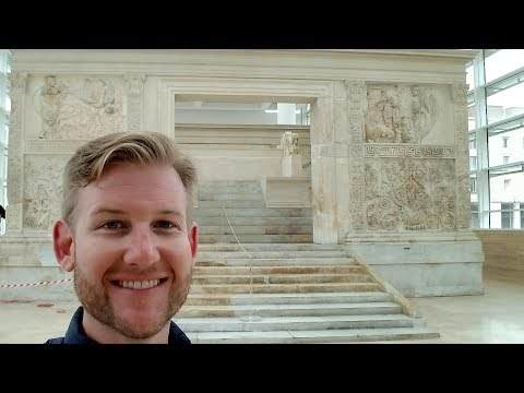 #594 3 HISTORIC & FAMOUS STEPS OF ROME, ITALY - Daze With Jordan The Lion (3/22/2018)