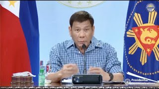 Download President Duterte's recorded message to the nation | Thursday, May 13