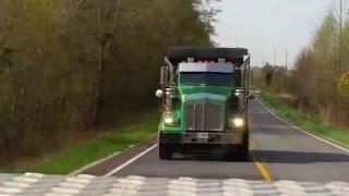 Custom Kenworth T800 dump truck