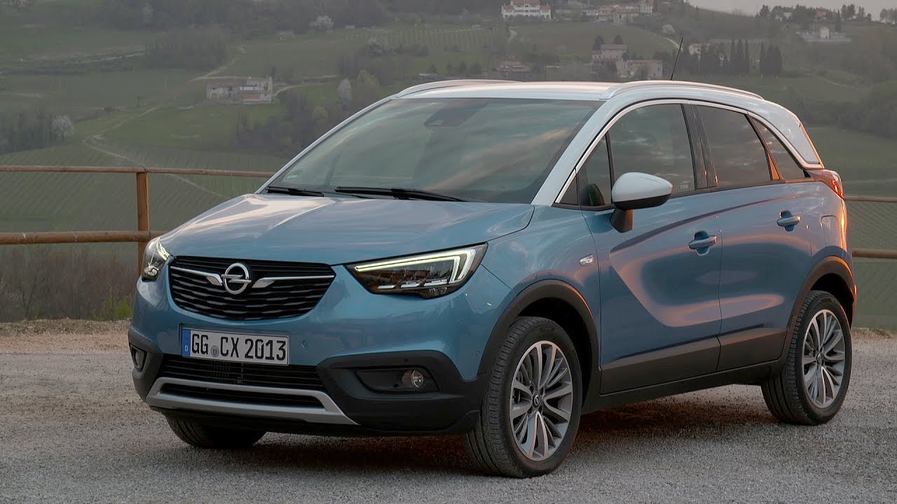 2017 opel crossland x driving interior exterior youtube. Black Bedroom Furniture Sets. Home Design Ideas