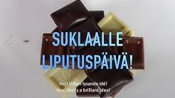 Liputuspäivä suklaalle   Lasten ja nuorten taidekalenteri Suomi 100
