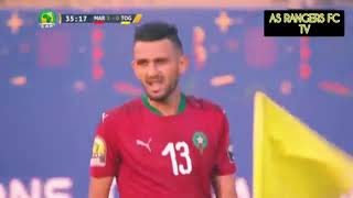 African Football Highlights CHAN 2020 : MOROCCO VS TOGO