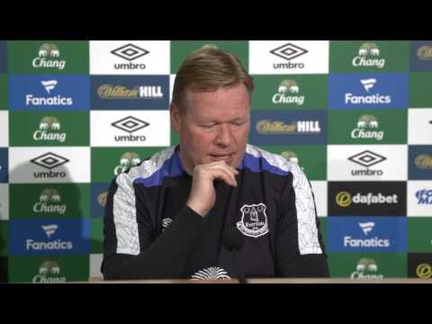 On Demand: Ronald Koeman's pre-Man Utd Press Conference