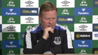 On Demand: Ronald Koeman's pre-Man Utd Press Conference