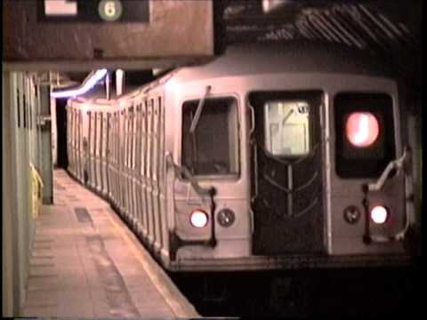 Canal and Times Sq Stations 1994