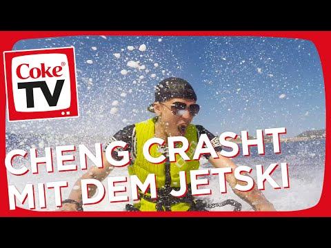 Jetski fahren mit Cheng und Becci | #CokeTVMoment