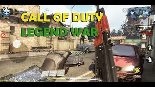 CALL OF DUTY LEGEND OF WAR  FIRST GAMEPLAY VERY HIGHT SETTING