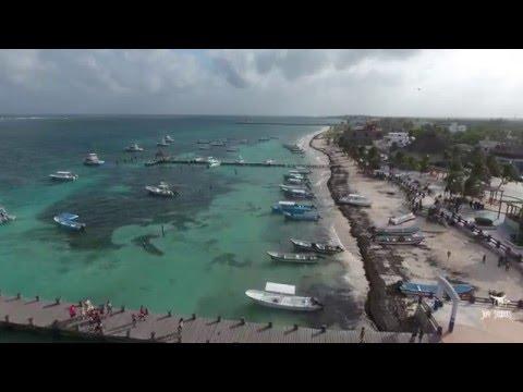 Puerto Morelos, Mexico in 4K