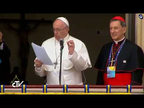 Pope to Colombian youth: Encounter can start with a cup of coffee