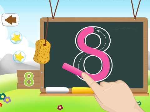 Learn to Write Numbers: Tracing 123 Amazing Best Free App for Kids