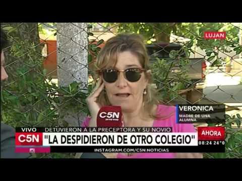 C5N - Policiales: Habla la madre de una alumna del colegio de Luján