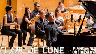 Debussy - Clair de Lune | Piano & Orchestra Version