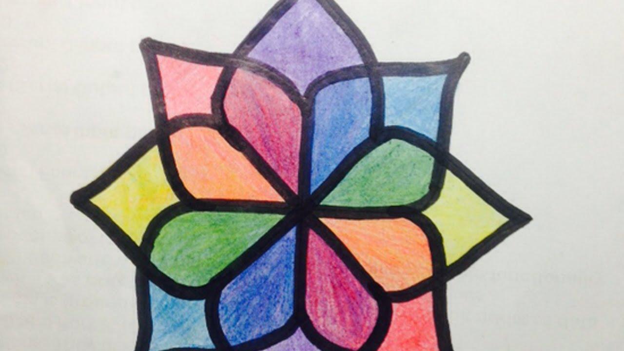 Ottieni Una Facile Traccia Per Disegnare Un Fiore Fai Da Te