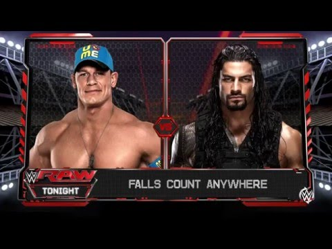 John Cena vs Roman Reigns (Full Match)