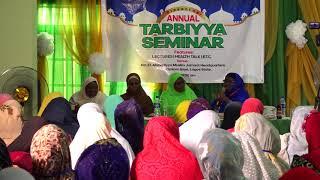 Lajna Imaillah 7th  National Tarbiyyah Seminar Nigeria