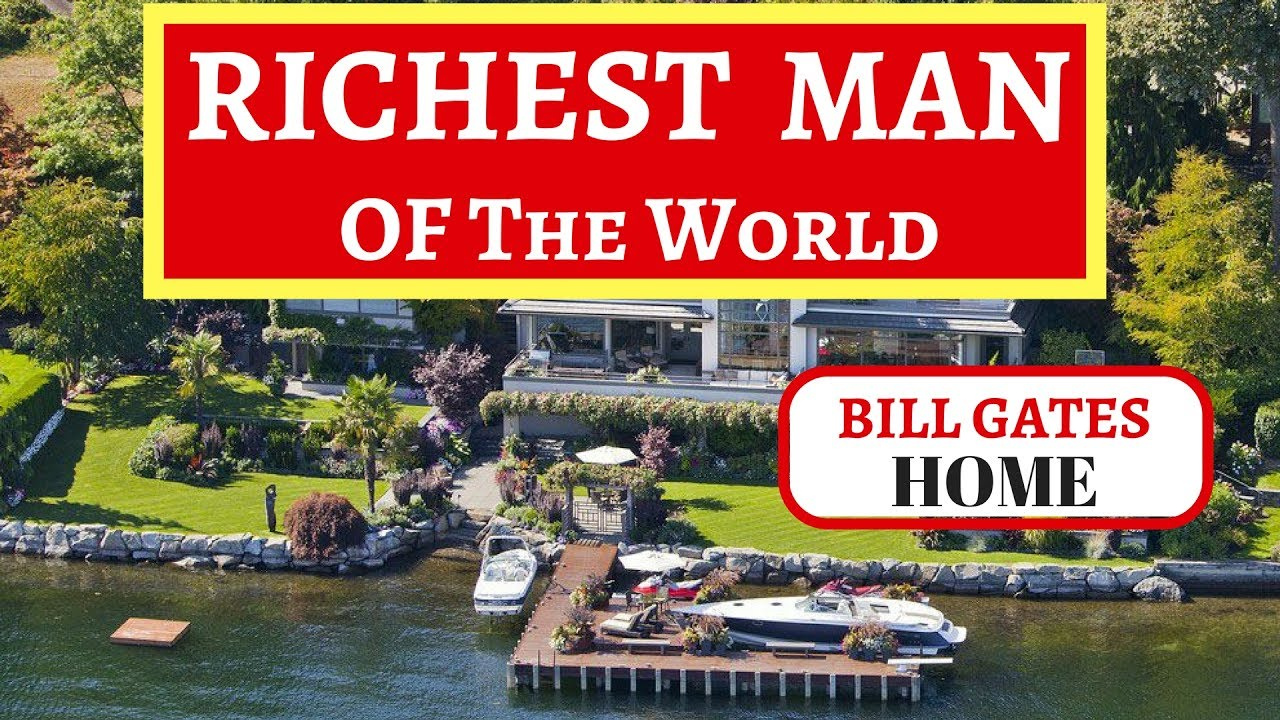 HOUSE OF THE RICHEST MAN IN WORLD | BILL GATES HOME - YouTube