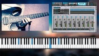 Salmo 84 - Danilo Montero (Cover Piano y solo de Guitarra Eléctrica)