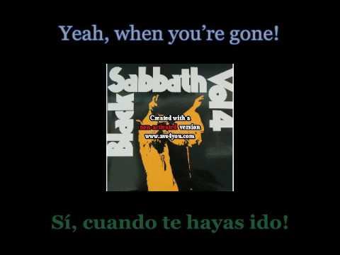 Black Sabbath - Wheels Of Confusion - 01 - Lyrics / Subtitulos en español (Nwobhm) Traducida