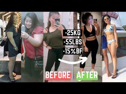 How I lost 25kg and 15% body fat | Weight Loss Transformation Journey