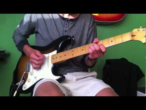 Red Hot Chili Peppers - Dani California - Guitar Cover (HD)