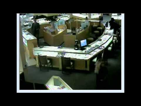 Surveillance video of jared robbery youtube for Jared jewelry lexington ky