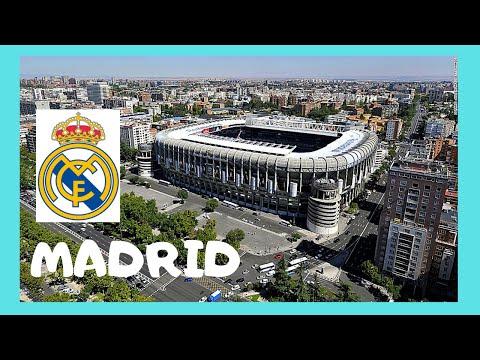 MADRID, outside SANTIAGO BERNABEU STADIUM (REAL MADRID Football Club)
