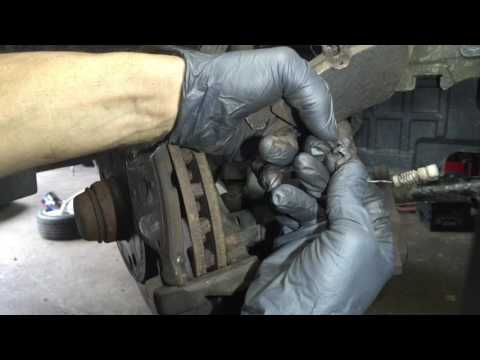 How To Replace Mercedes-Benz C300 Front Brake Pads