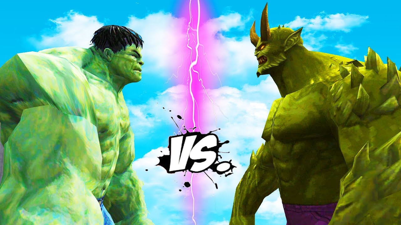 the incredible hulk vs ultimate green goblin - youtube