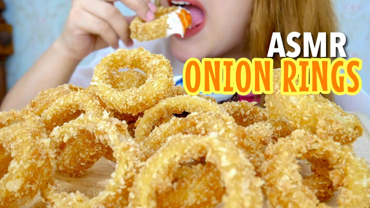 19 Request Asmr Crunchy Eating Sounds Onion Rings Asmr Indonesia