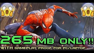 How To Download Homecoming Spiderman Game in Pc/Laptop!!IN JUST 265 MB !! Highly Compressed !!